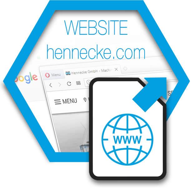 Website: hennecke.com - Hennecke GmbH