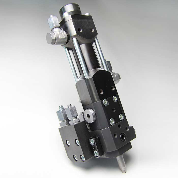 用于计量小产出量的高压计量机