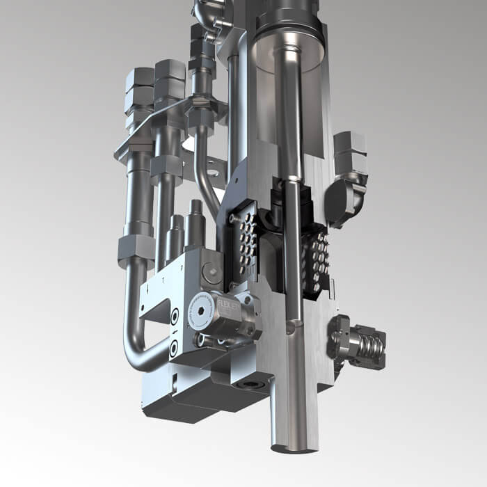 Flexible high-pressure metering machine for countless applications