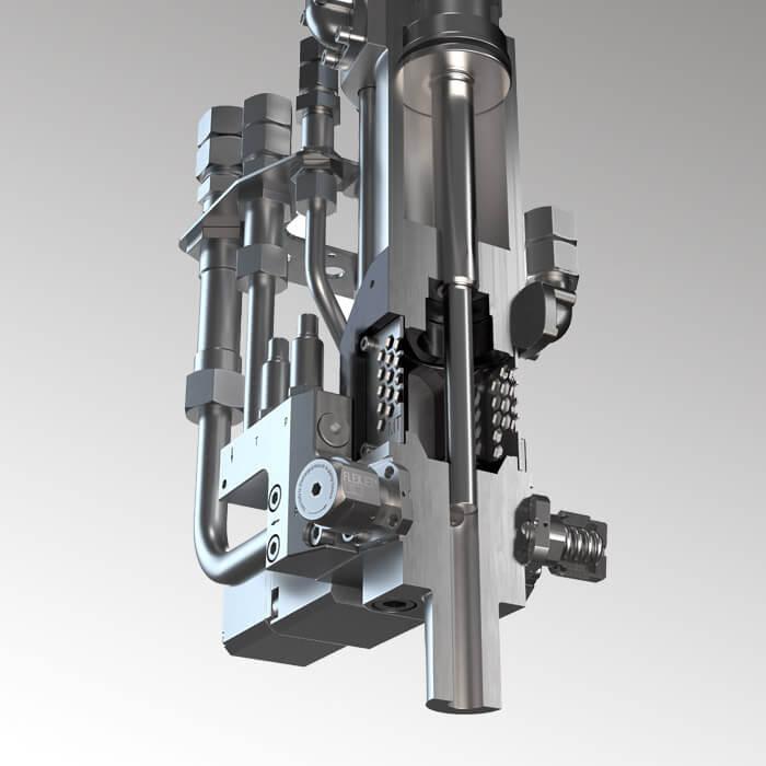 Máquina dosificadora de alta presión flexible para innumerables ámbitos de aplicación