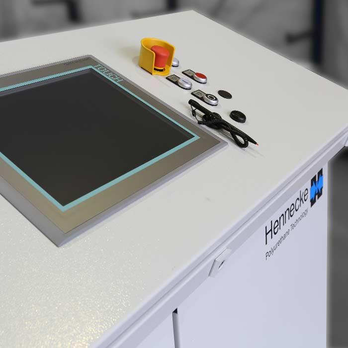 Máquinas dosificadoras de alta presión para la dosificación de volúmenes de descarga reducidos